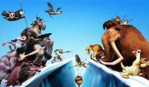 Look, Scrat's after a nut! Oh how fresh this all feels