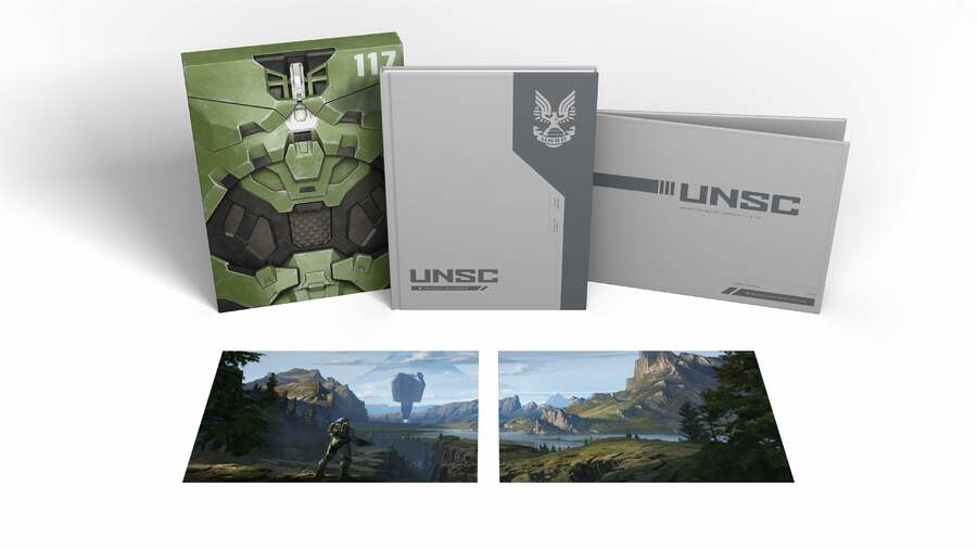 Halo Infinite's Official Artbook Is Getting A Special Deluxe Edition
