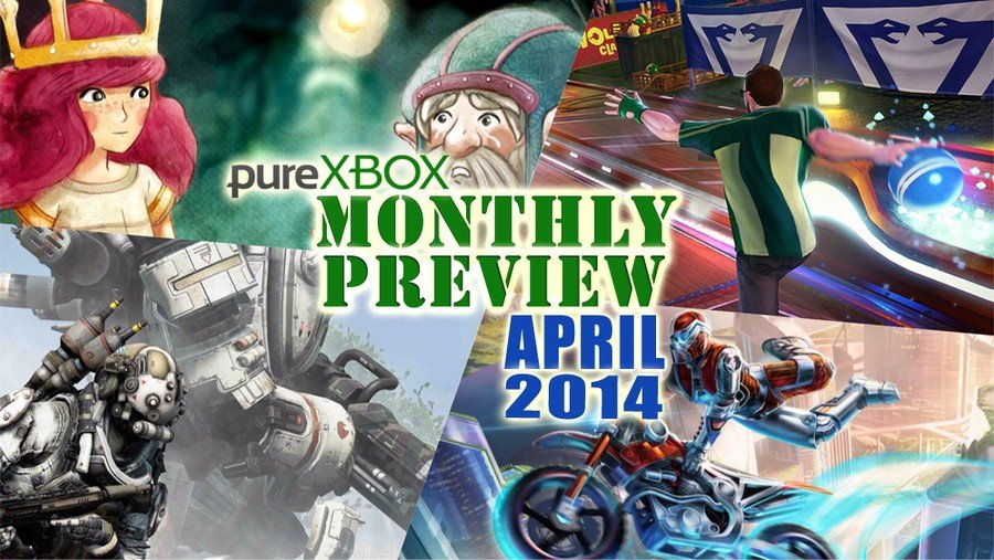 Pure Xbox - Monthly Preview - April