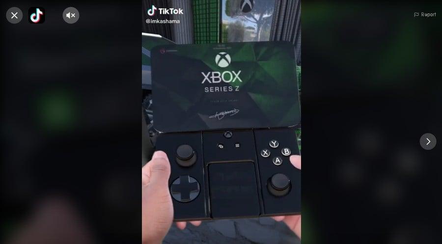 Random: This 'Xbox Series Z' Mock-Up Has Blown Up On TikTok