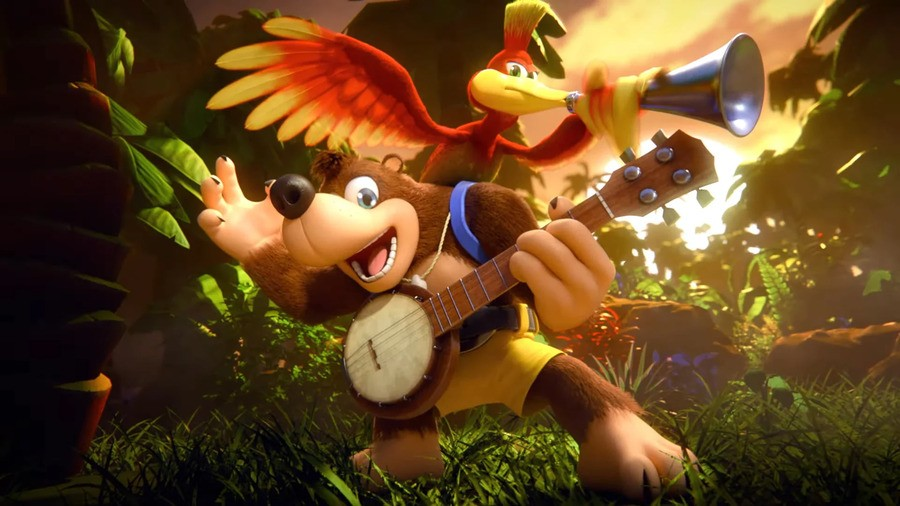 Double Fine Isn't Interested In Making A Banjo-Kazooie Game