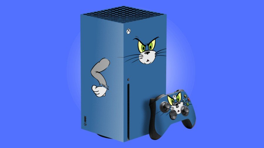 Tom & Jerry Xbox Series X Skin Available To Buy