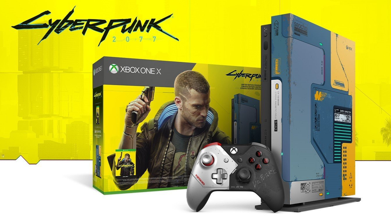 Lucky Fan Receives Cyberpunk 2077 Limited Edition Xbox One X Early Xbox News