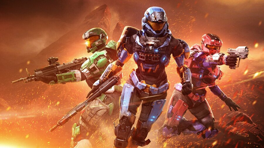 There's Some Beautiful Halo Artwork Floating Around