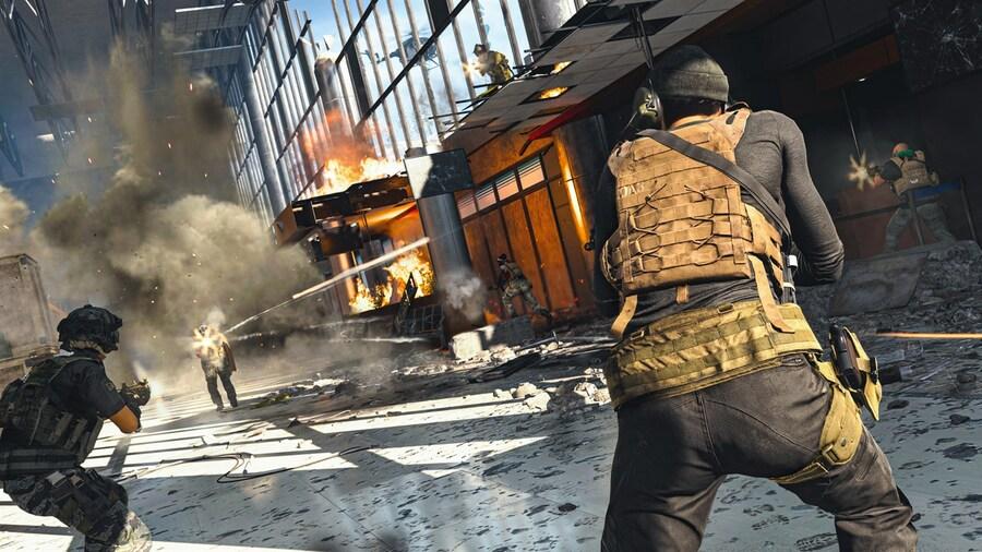 Call Of Duty Warzone Update Virgin Media Peak