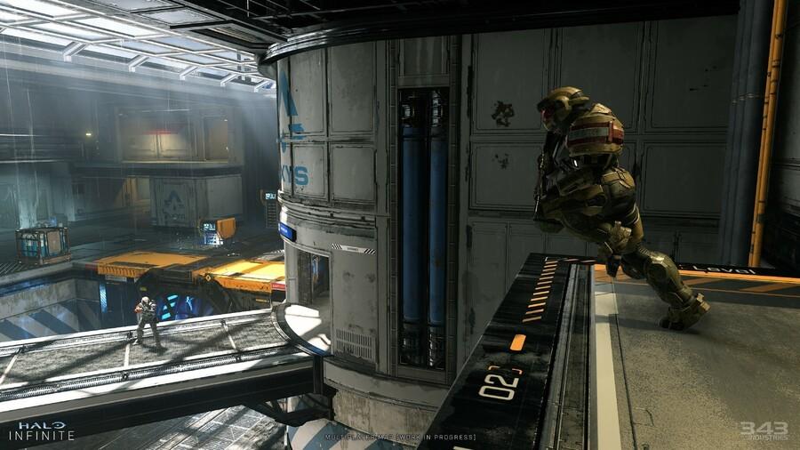 Halo Infinite Multiplayer Map - work in progress
