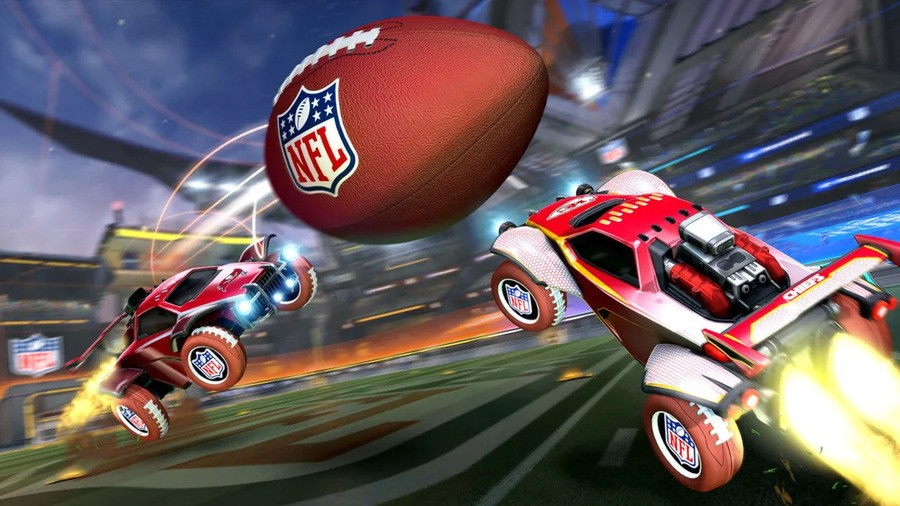 Rocket League Is Getting A Super Bowl Inspired NFL Mode Next Week