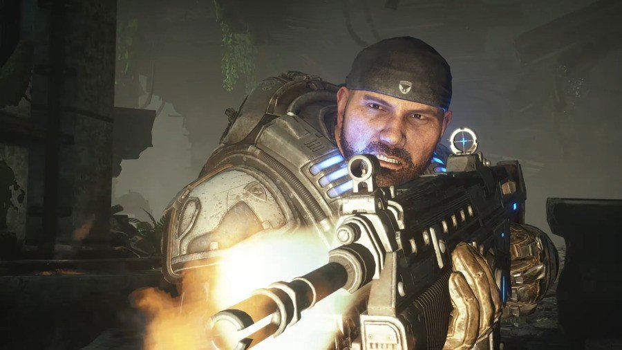 You Can Get The Free 'Batista As Marcus' Skin In Gears 5 This Week