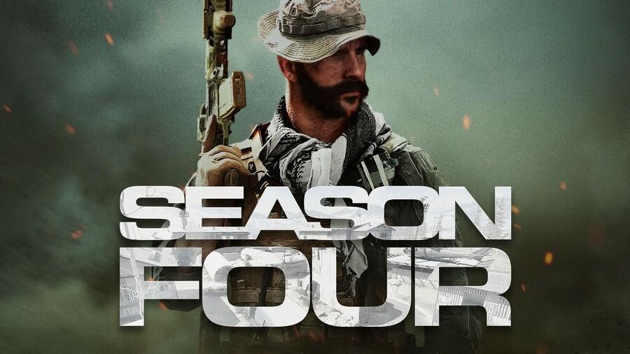 Don't Worry, Call Of Duty Modern Warfare's Season 4 Update Isn't 84GB