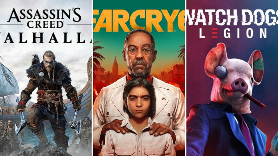 Pick One: Which Of These Ubisoft Games Are You Most Excited For?