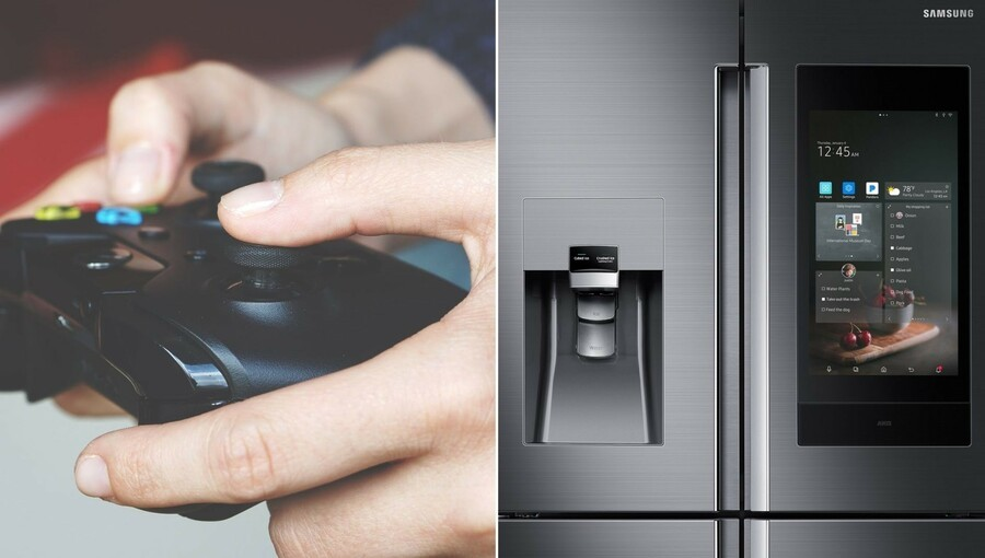Random: Ever Played Xbox On A Smart Fridge? This Guy Has
