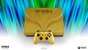 Wonder Woman Golden Armor Xbox One X Console
