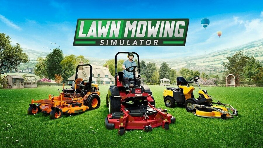 Lawn Mowing Simulator Mows Its Way To Xbox Series X, Series S This August