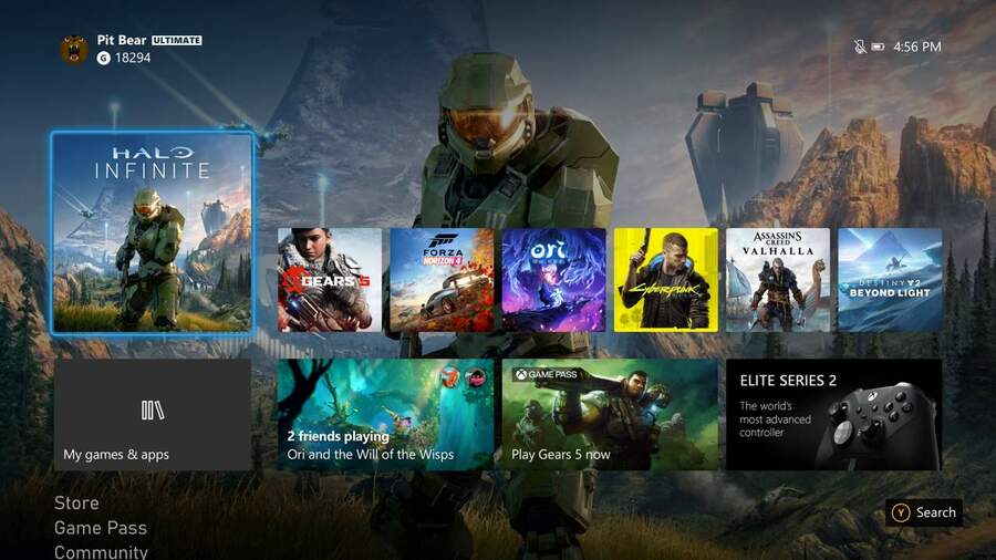 Xbox Series X's 4K Dashboard Is Rolling Out To More Xbox Insiders