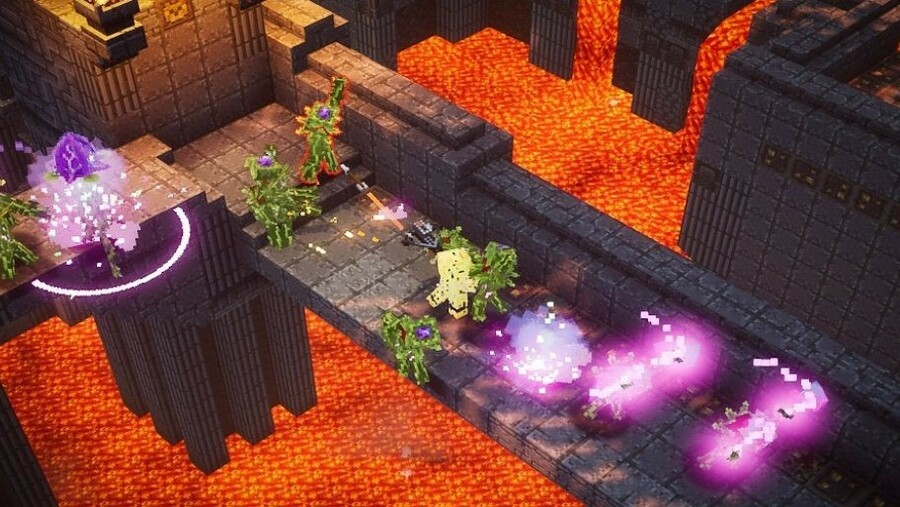 The First DLC For Minecraft Dungeons Arrives Next Week