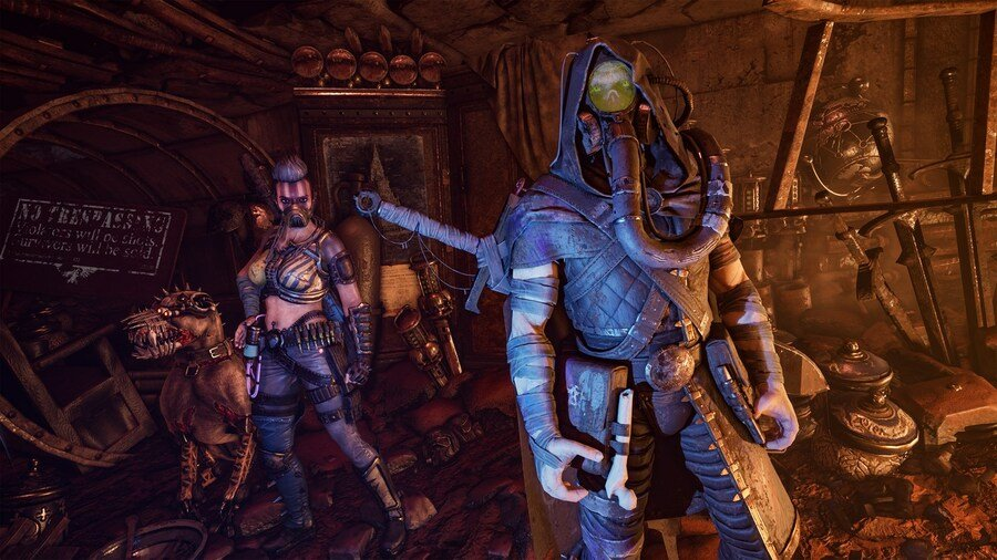 Necromunda: Hired Gun Is Plagued With Performance Issues On Xbox