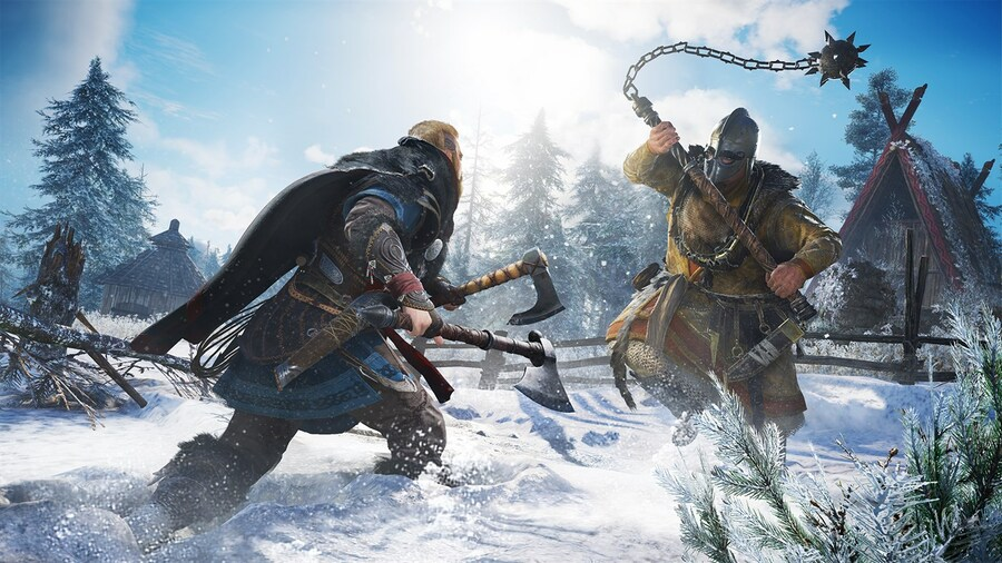 UK Boxed Charts: Assassin's Creed Valhalla Beats Cyberpunk 2077 To Christmas No. 1