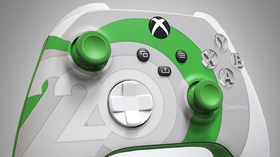 This Custom Series X|S Controller Celebrates Xbox's 20th Anniversary