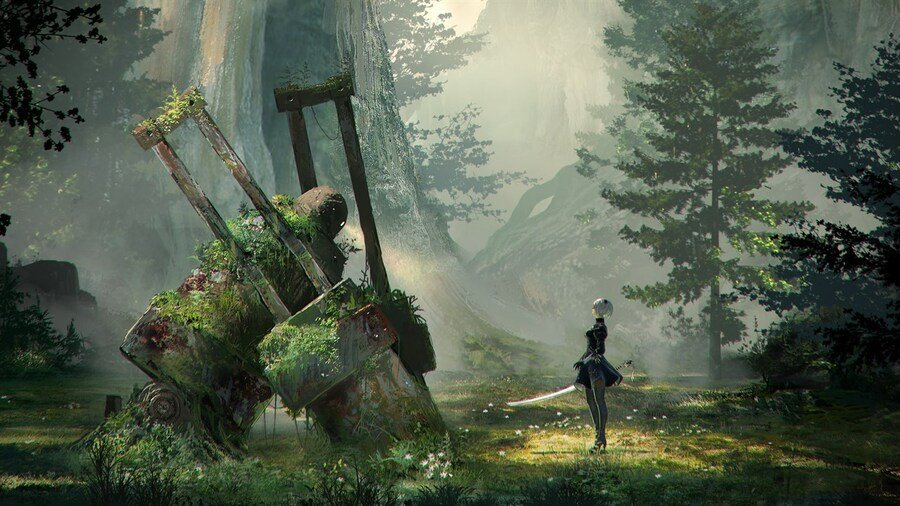 Nier Automata Reportedly Runs Better Xbox Game Pass PC Over Steam Version