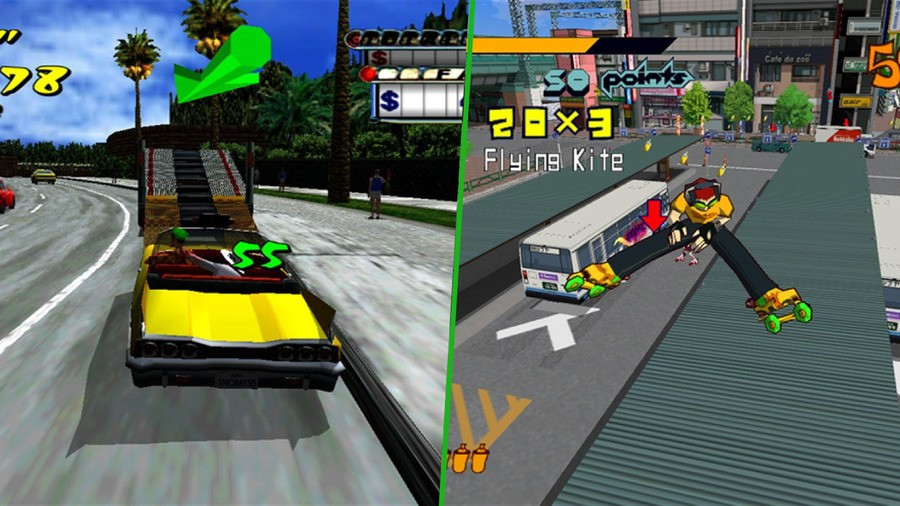 SEGA Might Be Thinking About Rebooting Crazy Taxi, Jet Set Radio