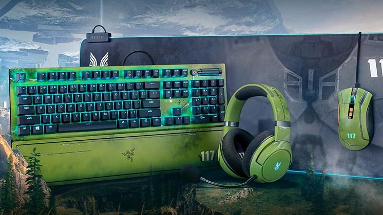 Nuevos accesorios inspirados en Halo Infinite de Razer