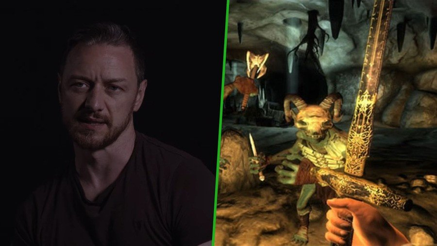 Random: James McAvoy Got So Addicted To Oblivion On Xbox 360, He Destroyed The Disc
