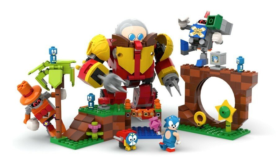 It's Official, Sonic The Hedgehog Is Getting A LEGO Ideas Set