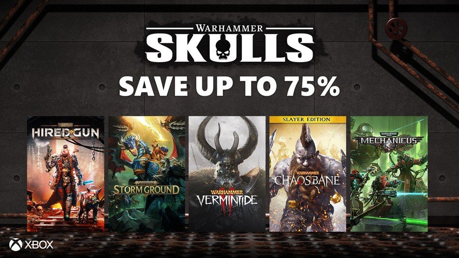 Deals: There's A Massive Warhammer Sale On Xbox Right Now