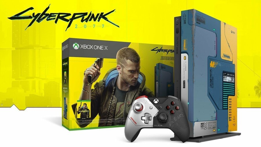 Lucky Fan Receives Cyberpunk 2077 Limited Edition Xbox One X Early.original