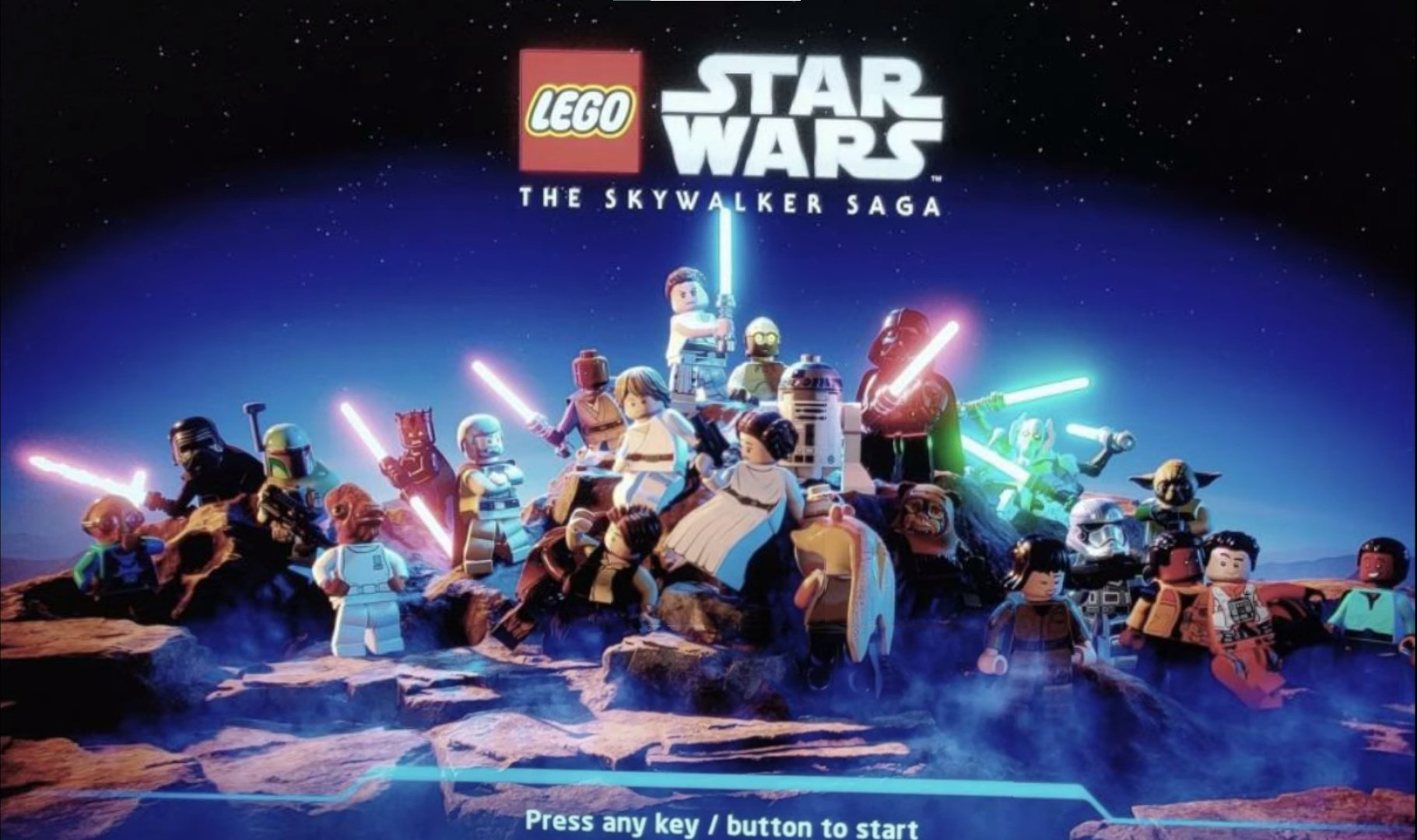 leaker unveils lego star wars the skywalker saga's menu