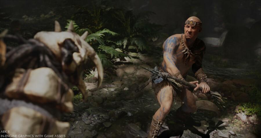 Random: Turns Out Vin Diesel Is A Huge Ark: Survival Evolved Fan