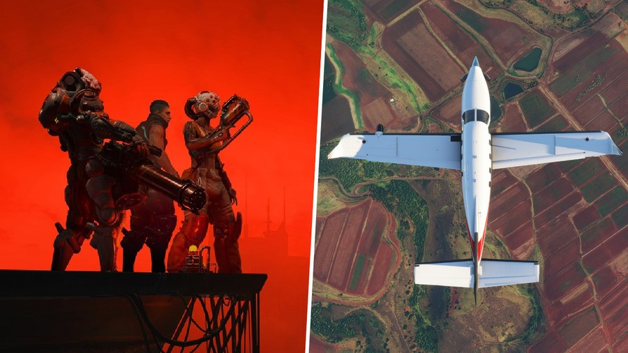 Poll: Which Are You More Excited For This Week, Flight Sim Or The Ascent?