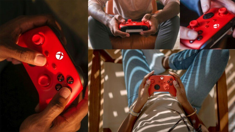 The Xbox Series X Is Getting A New Pulse Red Controller This February