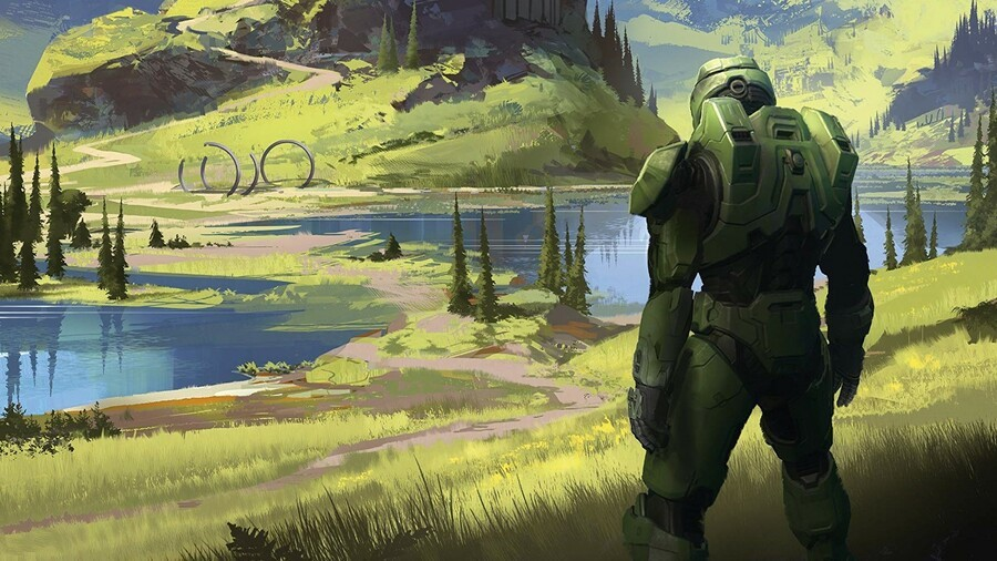 Excited For Halo Infinite? The Official Art Book Is Arriving This June