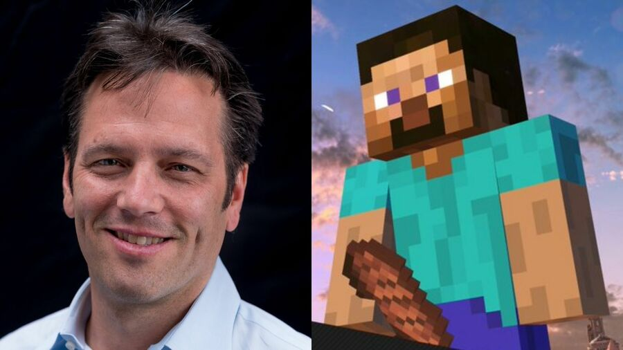 Xbox Boss Phil Spencer Was Just As Shocked By Minecraft Steve's Smash Bros. Victory Screen