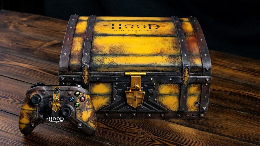 You Could Win This Stunning Hood: Outlaws & Legends Xbox One X