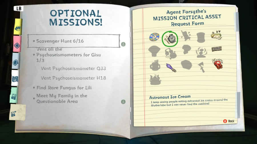 How To Find The Astronaut Ice Cream For The Scavenger Hunt Psychonauts 2