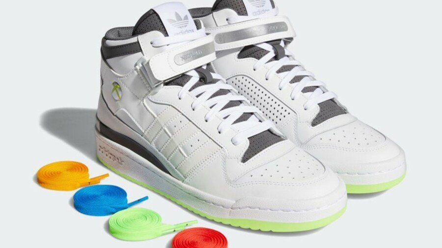 Adidas Unveils Xbox 360 Forum Mid Shoes, Releasing This Month
