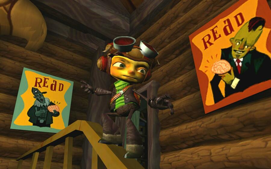 Psychonauts Creator Tim Schafer Would Love To Remake The Original Game