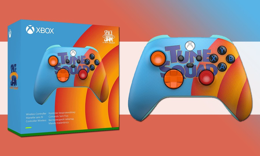 The New Space Jam: A New Legacy Xbox Controllers Are Now Available