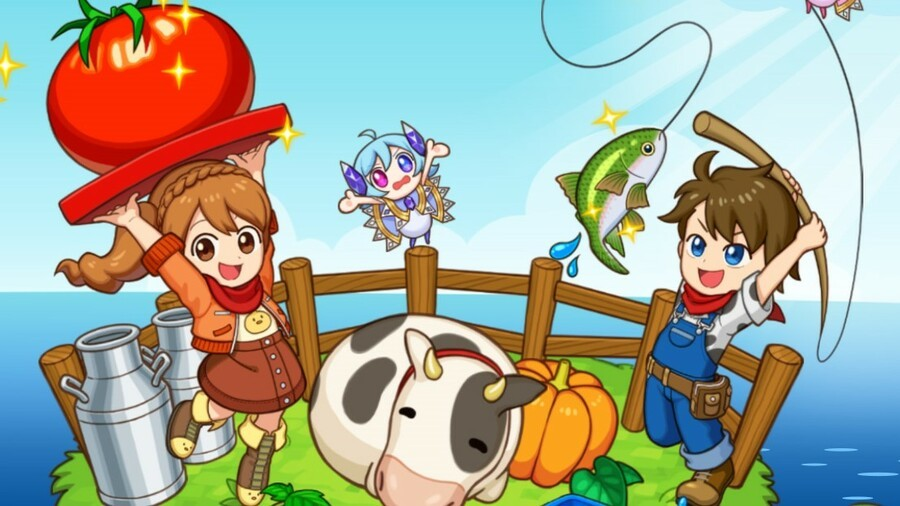 Harvest Moon Spin-Off Mad Dash Finally Brings The Series To Xbox Soon