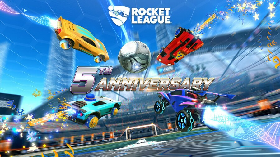Celebrate Rocket League's Fifth Anniversary With New Items And Limited-Time Modes