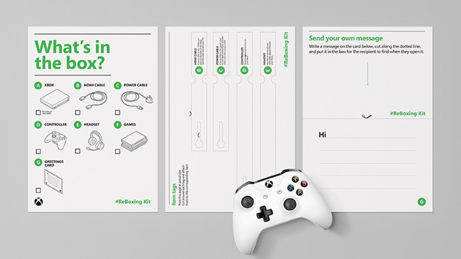 Xbox Creates Spare Console 'ReBoxing Kit' For Elderly Relatives