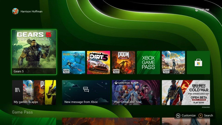 Dynamic Backgrounds Will Be Exclusive To The Xbox Series X|S