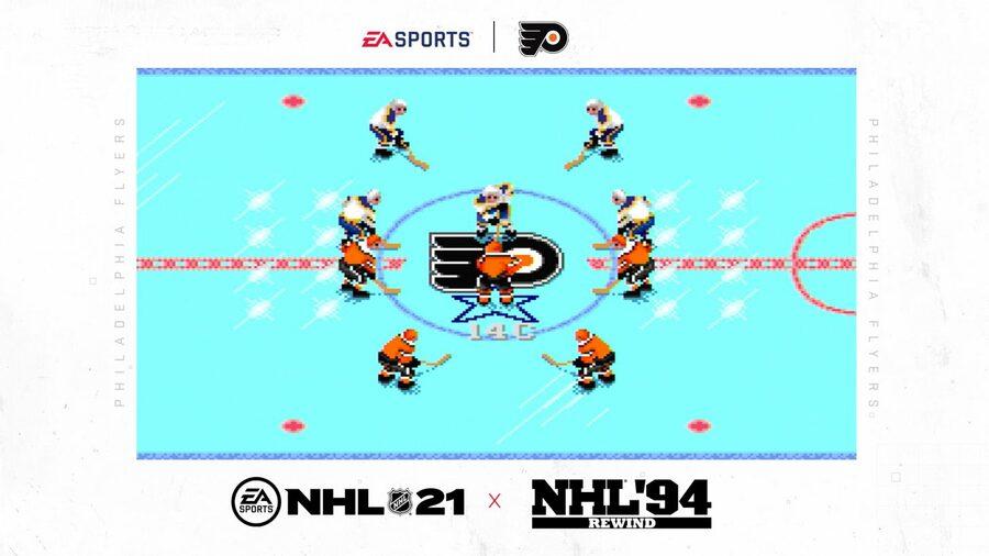 NHL 94 Rewind Is A Nostalgia-Ridden Pre-Order Bonus For NHL 21