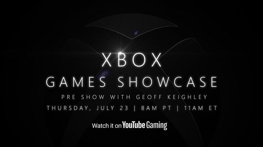Xbox Games Showcase Pre Show