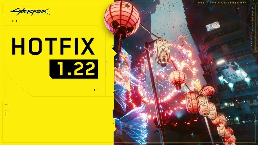 Cyberpunk Hotfix 1.22 Released For Xbox