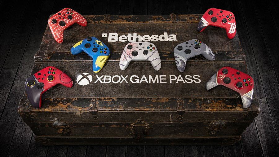 Xbox Is Running A Bethesda Controller Contest For Achievement Hunters