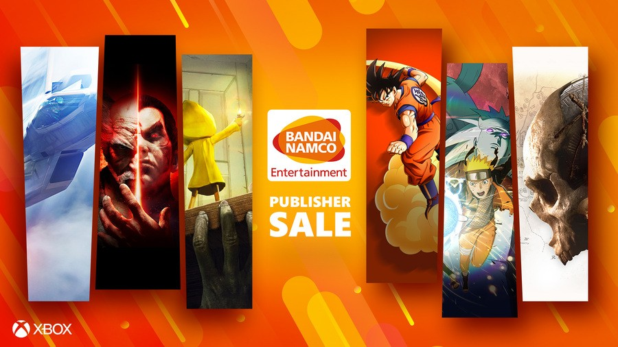 Deals: Xbox Bandai Namco Sale Now Live, Featuring Over 80 Games
