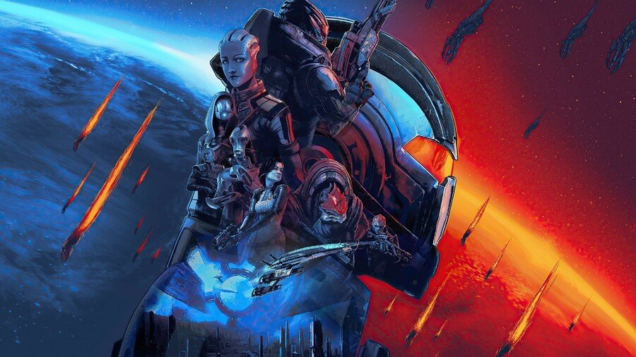Retailers List Mass Effect Legendary Edition With March Release Date